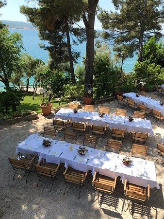 Restaurant Dida : Table setting of a wedding - 05/2018