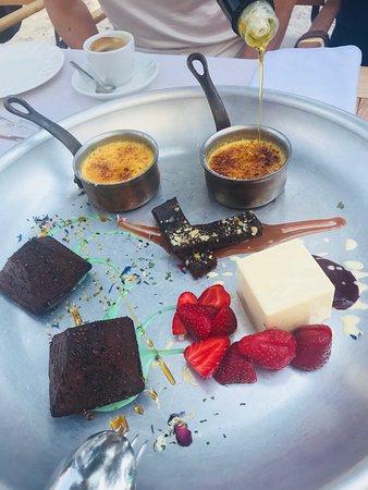 Restaurant Dida : Desert plate.