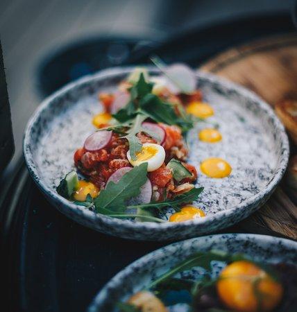 The Grill House : Delicious salmon tartare
