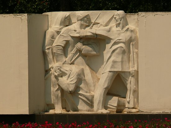 Monument to Fighters Revolution Who Sacrificed their Lives for the Soviet Power