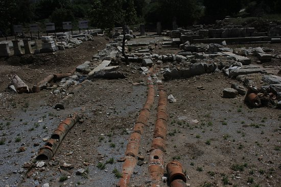 Ancient City of Ephesus: The water canal systems
