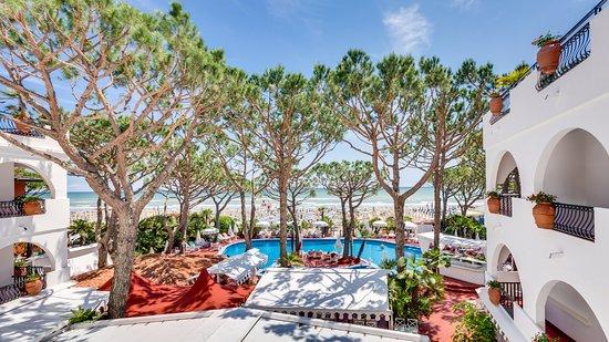 Agora' Park Hotel: Vista dalle camere fronte mare