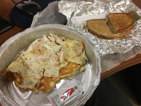 """George's Restaurant: The """"protein omelette"""""""
