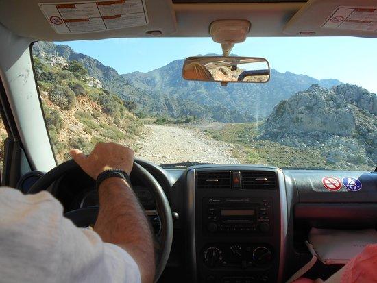 Ierapetra, Grecia: à bord du véhicule