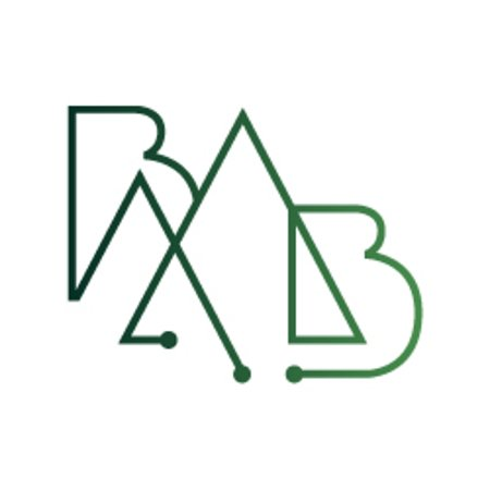 Pont-de-Larn, France: Black Mountain Bike Logo