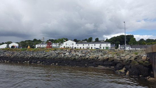 Lough Foyle Ferry: Maritime Museum and Planetarium - less than a minutes walk from Greencastle Pier.