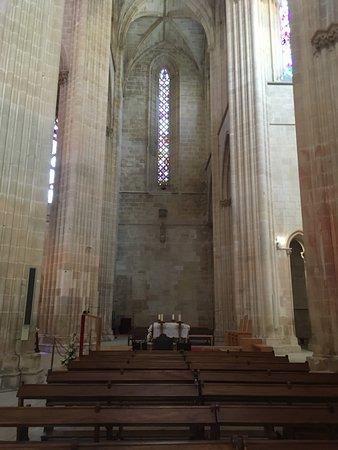 Batalha Monastery: interior do mosteiro
