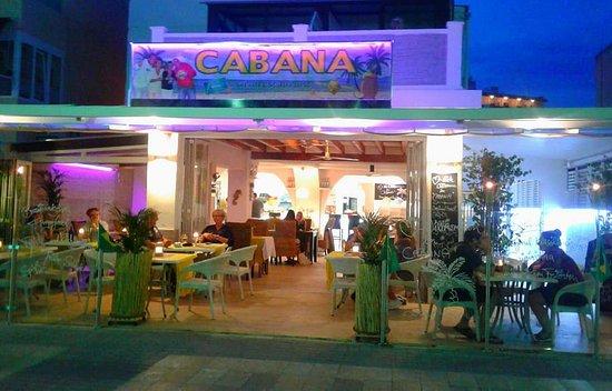 Cabana Paguera: unser Lokal von innen