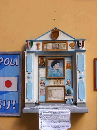 Bar Nilo: Diego Maradona'a altar