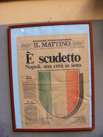 Bar Nilo: Napoli wins scudetto!