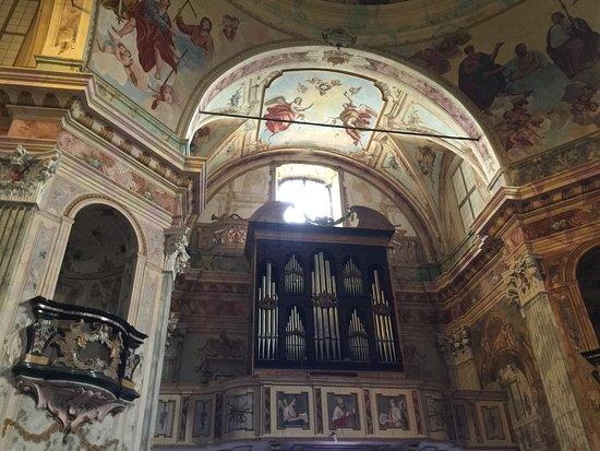Santuario della Madonna del Sasso: L'organo