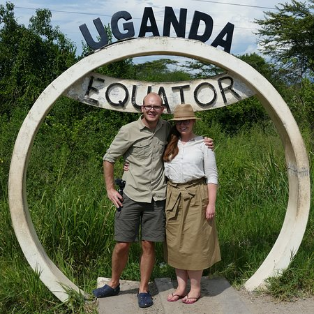 Africa Adventure Safaris : At one of the equator crossings