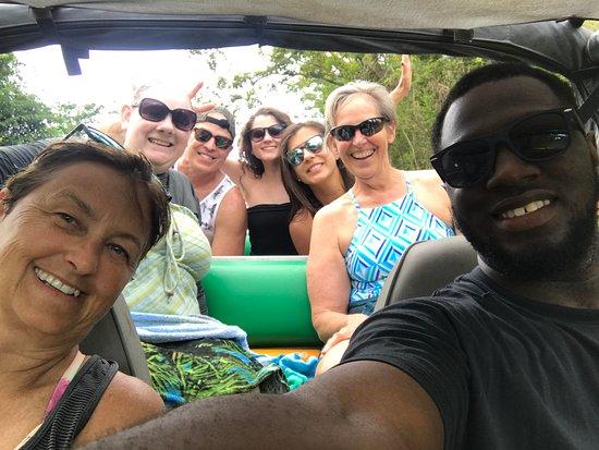 Tan Tan Tours: Tan Tan Jeep Tour Selfie with Kendall, our driver!