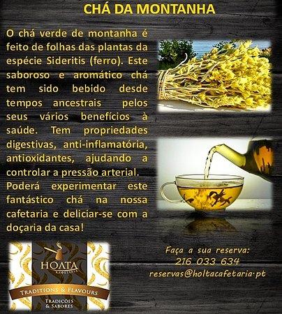 Holta Cafetaria : Chá da montanha