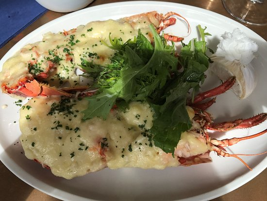Little Fish Cafe : Lobster Thermidor