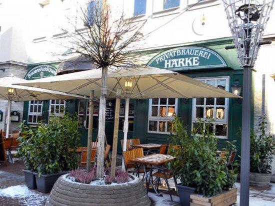 Härke Brauerei Ausschank : Winterzeit