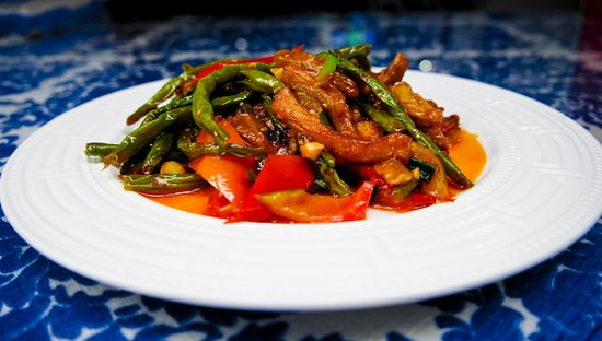 Tiankong Zhicheng Chinese Restaurant: Fried Eggplants and Beans