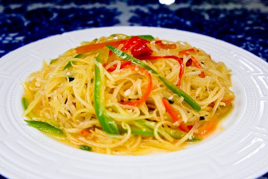 Tiankong Zhicheng Chinese Restaurant: Spicy and Sour Shredded Potatoes