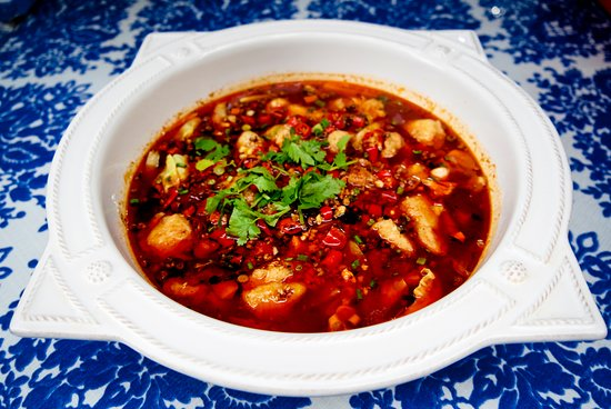 Tiankong Zhicheng Chinese Restaurant: Fish Filets in Hot chili Oil