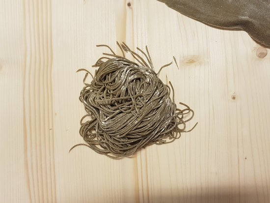 Ca' Nova: pasta fatta in casa: Tonnarelli di grano Arso