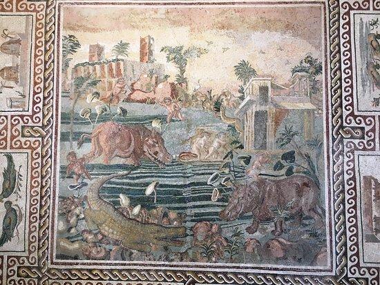 Museo Nazionale Romano - Palazzo Massimo alle Terme: Pavimento a mosaico