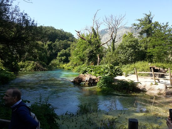 The Blue Eye: Il fiume