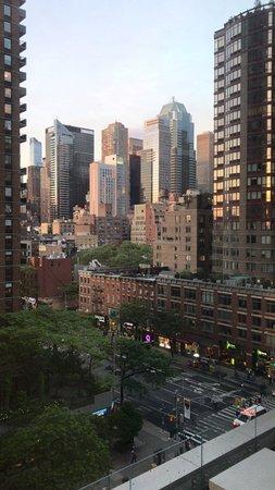 Pod Times Square: Vista del cuarto