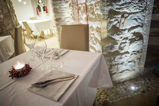 Dovadola, Italia: Interno del ristorante