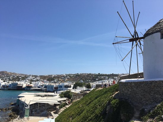 The Windmills (Kato Milli) ภาพถ่าย