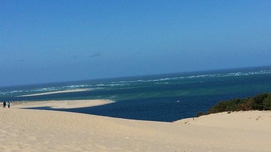 Vue Sur Le Banc Darguin Picture Of Great Dune Of Pilat Arcachon