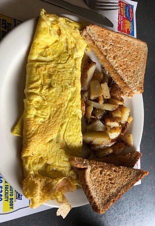 Harriman, NY: Omelet, Home fries, and toast
