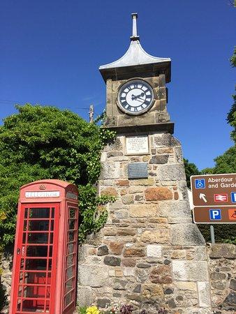 Aberdour Memorial Clock