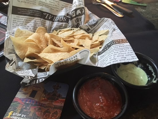The Litmus Test passed; great chips and salsa!