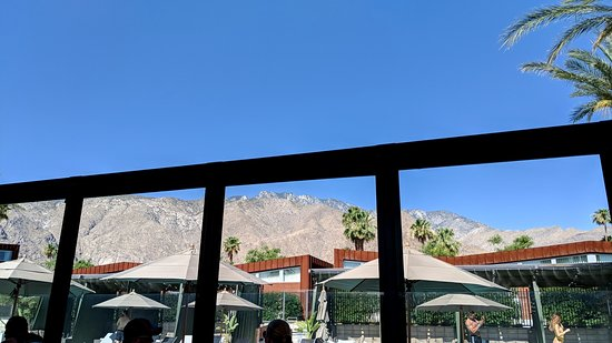 View from Reservoir, the on-site restaurant.