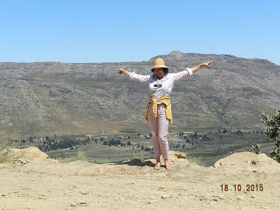 Citrusdal, Sydafrika: On top of the world........