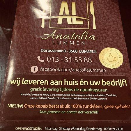 Lummen, Βέλγιο: Anatolia