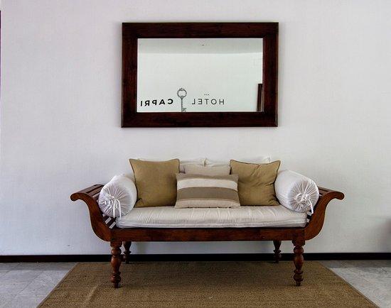 Hotel Capri : Recepción