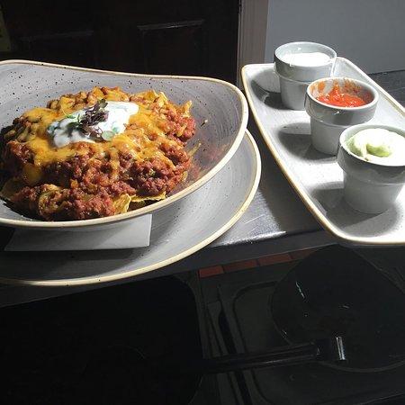 Swinford, Irlandia: Spicy Beef Nachos