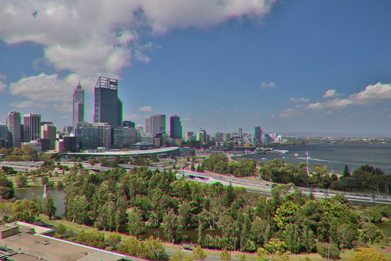 Nice view on Perth
