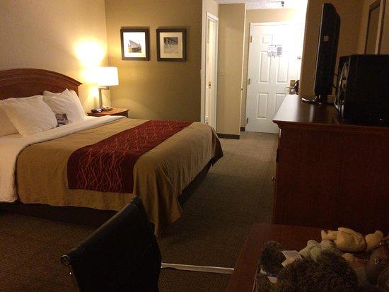 Muskogee, Oklahoma: Spacious Room