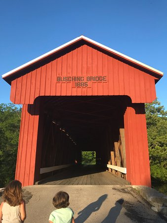 Versailles, IN: Covered Bridge