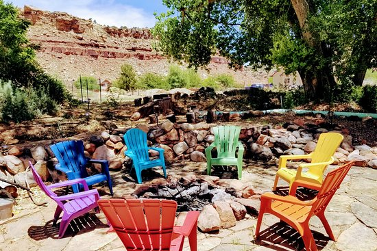 Rockville, UT: Our backyard fire pit.