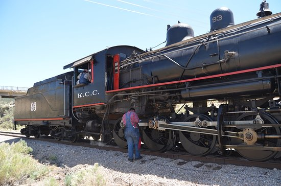 Steam Engine That We Used On Our Two Hour Be The Engineer Experience Picture Of Nevada Northern Railway Museum Ely Tripadvisor