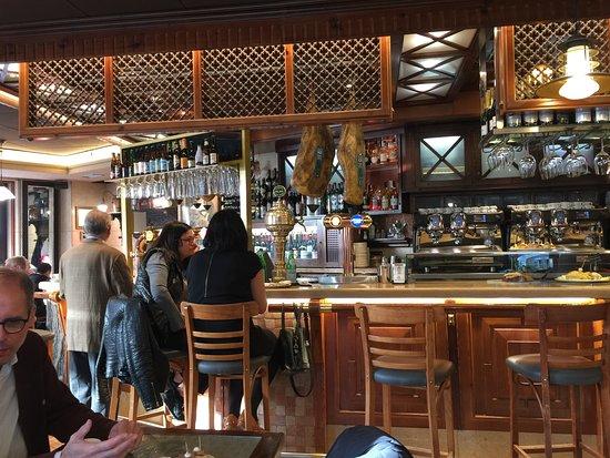 La Corte de Pelayo: Pintxos (Tapas) Bar Area