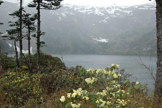 Lanping County, China: The bigest lake of seen lakes. sea level about 3300m