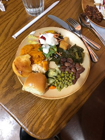 Brandon, MS: my food from the buffet