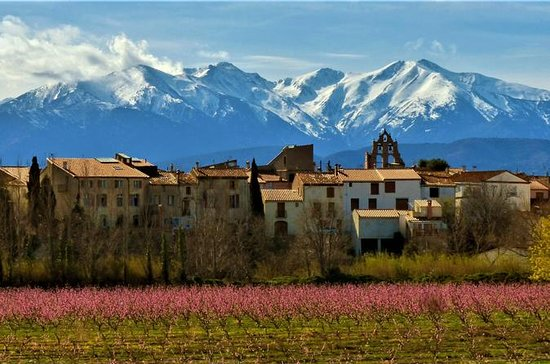 Pyrenees and Medieval Villages from...