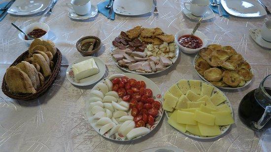 Vadu Izei, Rumunia: Dinner appetizers