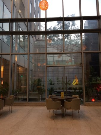 Radisson Blu Greater Noida : Ground Floor Lobby Area