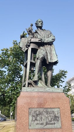 Denkmal Raphael Donner